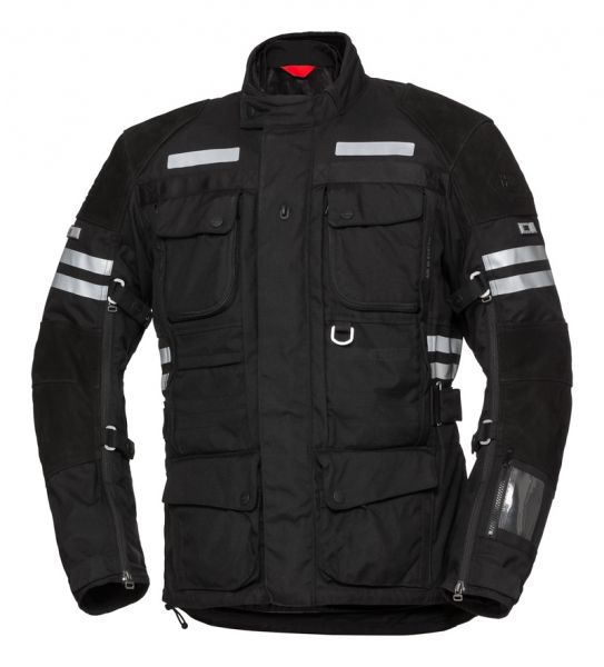 IXS Tour LT Jacket Montevideo-ST черно-белый