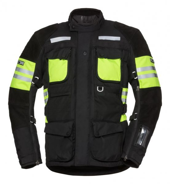 IXS Tour LT Jacket Montevideo-ST черно-зеленый